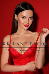 Milania high end escort in red